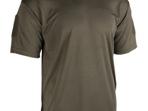 Mil-Tec Tactical T-Shirt Quick Dry- Dark Olive
