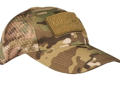 Net baseball cap
